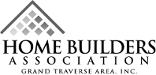 home builders association grand traverse area logo