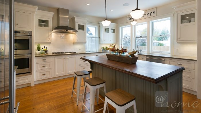 newly redesigned kitchen is a joy to cook and entertain in